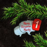 Merry Christmas Mandy by Keith-McGuckin