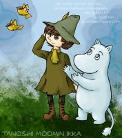 Tooi Akogare: Snufkin x Moomin by SS-Chan