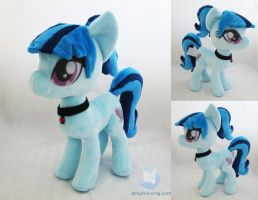Sonata Dusk Plushie by dollphinwing