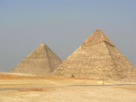 Pyramids, Giza by luckypeter