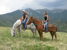 Riding in the Rockies by HyruleWarrior7955