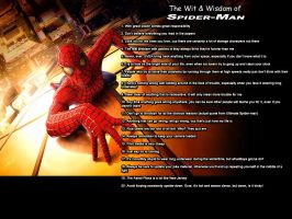 The Wit + Wisdom of Spider-Man by What-the-Gaff