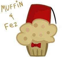 Muffin and a fez by netnavi20x5