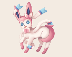 Sylveon by Mack-chan