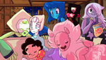 Steven Universe - Big Family Movie Night by JB-Pawstep