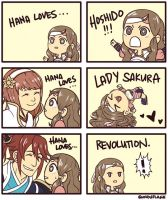 Hana Loves..! by koalaflage