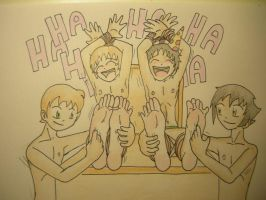 Happy, ticklish BRITHDAY by Michio-chan