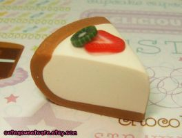 Scented Cheesecake Charm by pinknikki