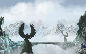 Icy Path by Chief-forrunner