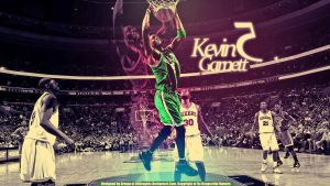 Kevin Garnett Wallpaper by drgraphic