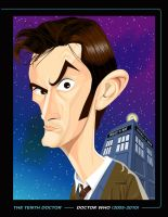 THE TENTH DOCTOR PRINT by kgreene