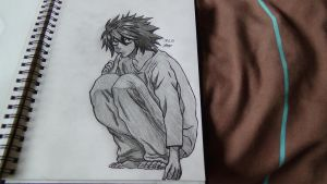 L From Death Note by Xezn