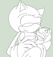 Sonic Feeding Baby Base by Java-Mocha