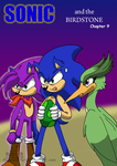 Sonic and the Birdstone cover 9 by Amandaxter