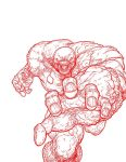 Parasite by Aaron Kuder (Red Inked) by TheComicBookMaster