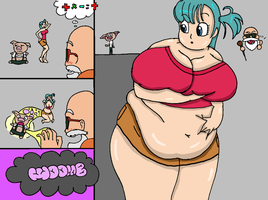 Bulma Weight Transfer Colored by ZeroConfidence