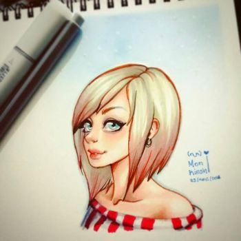 copic markers  by ishirinNOhana25
