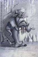 Abominable Snow Dude by sharpie99
