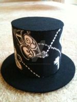 Progress Pic:Antique Top Hat 1 by alternativeicandy