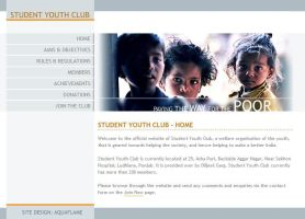 Student Youth Club Website by himanshu-kapoor