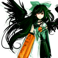 okuu-loid by catfinches
