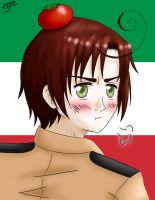 Hetalia 30 Collab- Romano by animerocks4