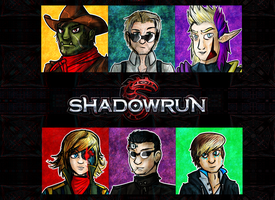 Shadowrun: Runners Icons by AkariMMS