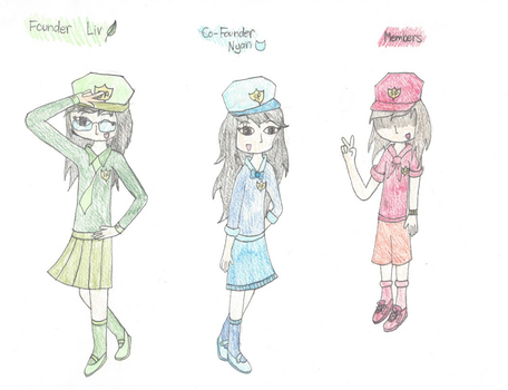 The Swear Police Uniforms!!! by NyanToDaMax145