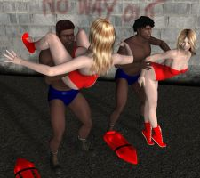 mixed Wrestling 68 by cattle6