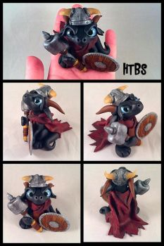 Viking Dragon by HereThereBeSculpture