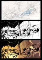 Comic frame step by step by JuliaMadrigal