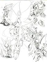 super sonic sketch by trunks24