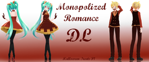 .:Halloween Treats Part 1:. Monopolized Romance by Crystallyna
