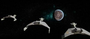 Klingon D7 pack by Robby-Robert