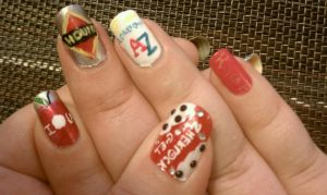 Sherlock Nail Art Part 1 by LostFlame