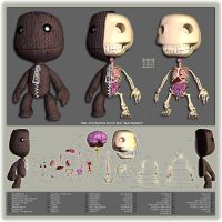 De-constructing Sackboy by freeny
