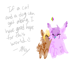 It gives me hope by Aquillic-Tiger