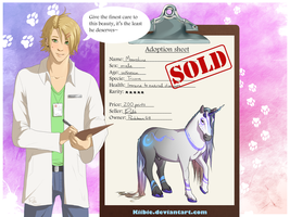Lewis the vet: Moonshine -CLOSED- by Kiibie-Adopt