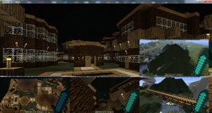 Minecraft Tree Town - Step 4 - Finished by mpw3d