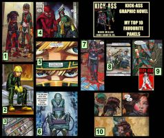 Kick-Ass Graphic Novel: My Top 10 Favourite Panels by Davoe
