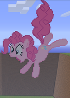 Pinkie Pie Minecraft by annary