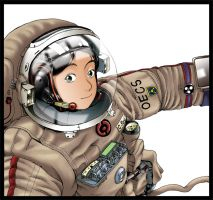 Welcome to Space by xiaoli