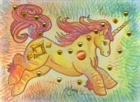 ACEO Unicorn 04 by rachaelm5