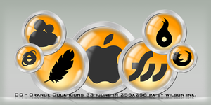 OD - Orange Dock icons by wilsoninc
