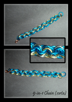 Blue 9-in-1 Chain, Sorta by Swordgleam
