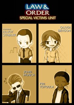 Law and Order SVU Pocket by iamtabbychan