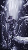 Rise of the Tomb Raider Fan Art by illyne