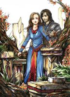 Couple Commission: Kili and OC by anireal