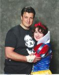 Nathan Fillion x Snow White by meowmix22