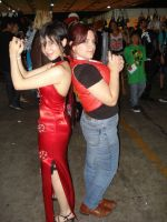 Claire Redfield And Ada Wong Cosplay by Grichu-Ada-Kinney